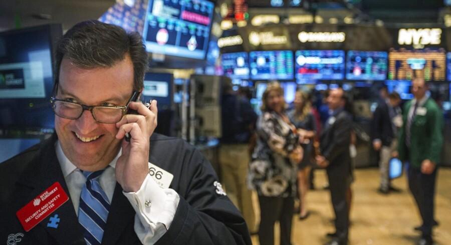 Indekset for »frygten« for aktiernes sundhedstilstand er sendt ned i et lavt niveau.