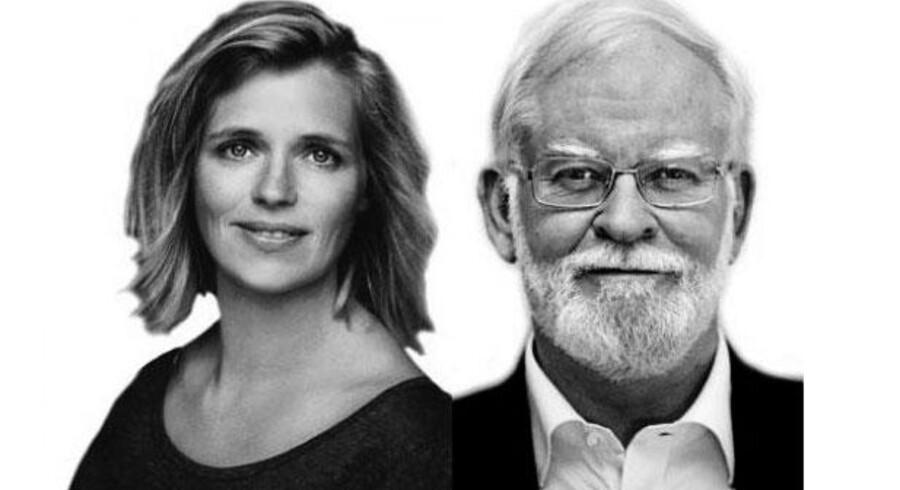 Lars Hedegaard & Katrine Winkel Holm, hhv. formand & næstformand i Trykkefrihedsselskabet