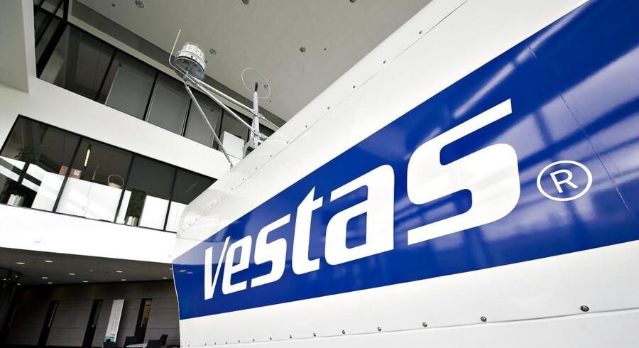I toppen af indekset er Vestas-aktien igen interessant at følge.