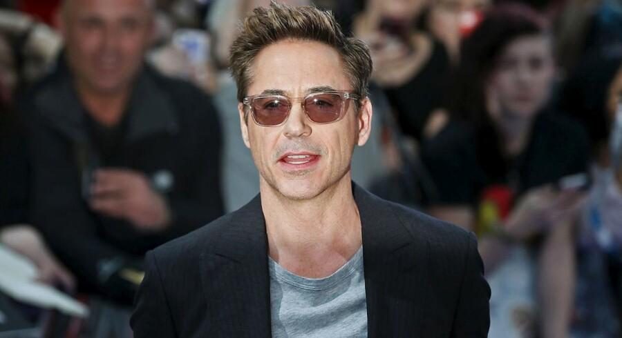 Robert Downey Jr. Arkivfoto.
