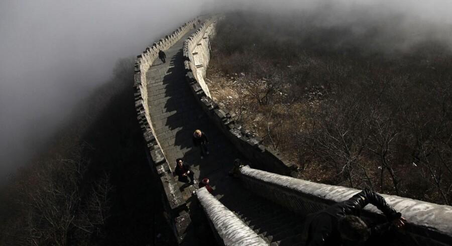 Den Kinesiske Mur er officielt nu over dobbelt så lang som før.