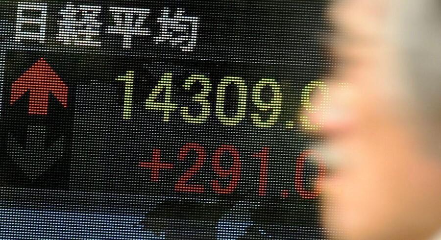 I Tokyo fører investorerne an i de asiatiske stigninger.