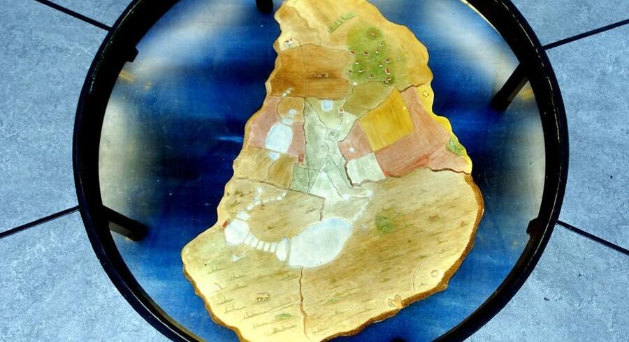 Tycho Brahes ø i Øresund fik på årets første sommerdag sin første taxi. Arkivfoto: Jacob Schou Nielsen, Scanpix