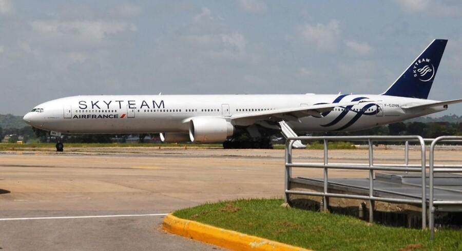 Det var dette Air France-fly, der måtte sikkerhedslande.