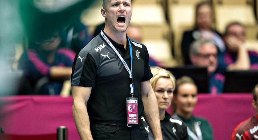 Danmarks landstræner Klavs Bruun Jørgensen