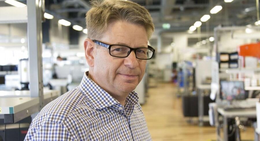 »Omkostningerne er steget på grund af de spareinitiativer, som vi har gennemført« siger Jón Sigurdsson til Ritzau Finans.