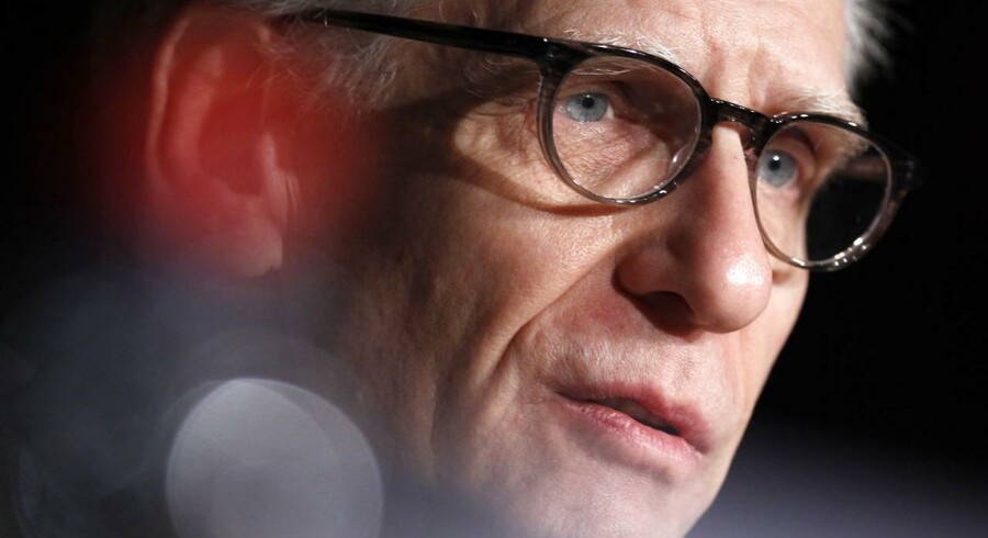 David Cronenberg i Cannes.