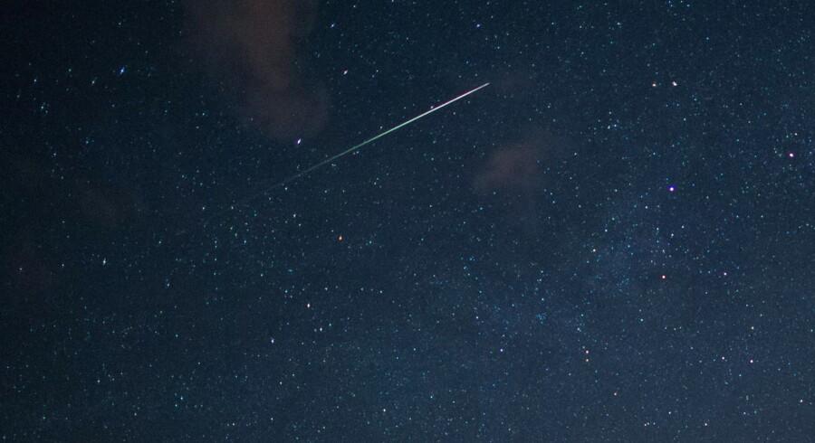 Stjerneskud. (Foto: EPA)