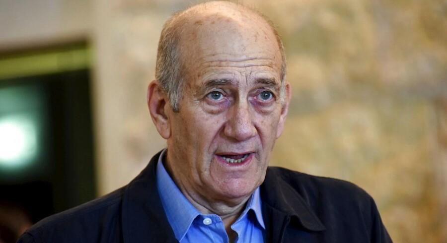 Israels tidligere premierminister skal i fængsel.