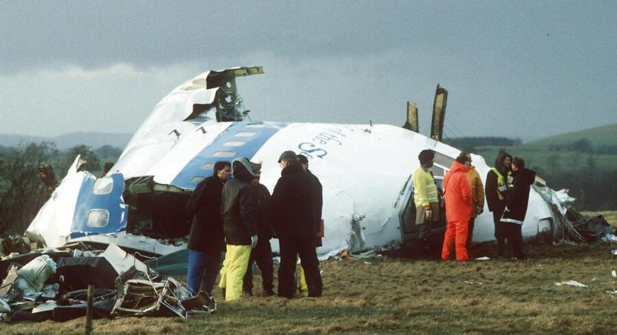 Tilbage i 1988 styrtede et Pan Am-fly ned i den skotske by Lockerbie.