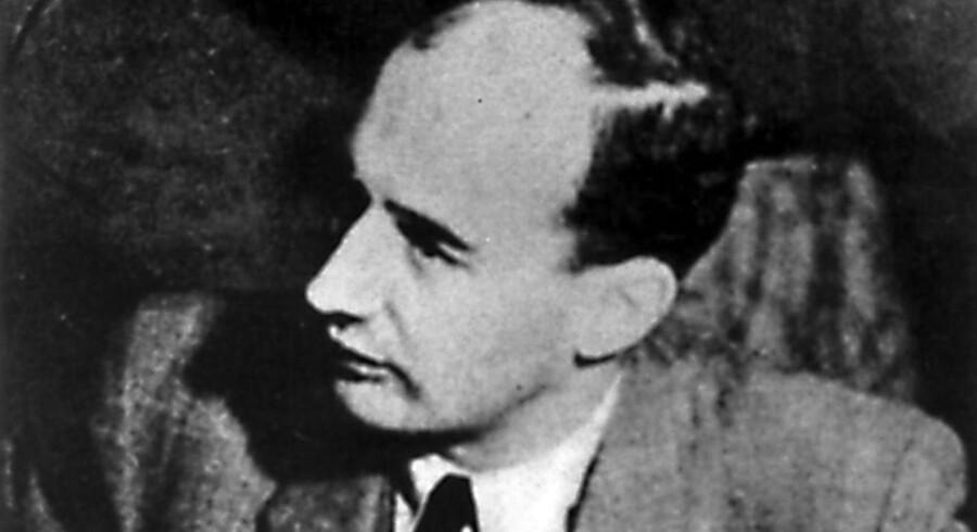 Raoul Wallenberg fotograferet i november 1944.