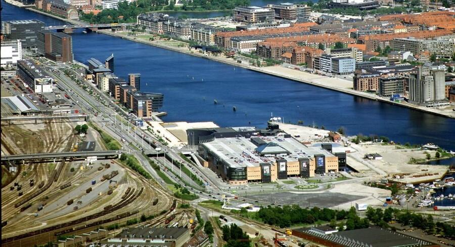 Kalvebod Brygge, Islands Brygge, Fisketorvet.