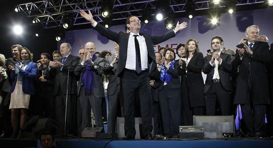 Frankrigs nye præsident, Francois Hollande.