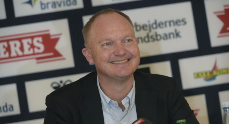 Glen Riddersholm præsenteres som ny cheftræner i AGF.