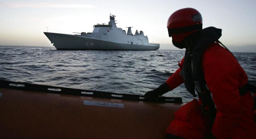 Dansk støtteskib Absalon vender nu hjem til Danmark efter piratjagt i Afrika.