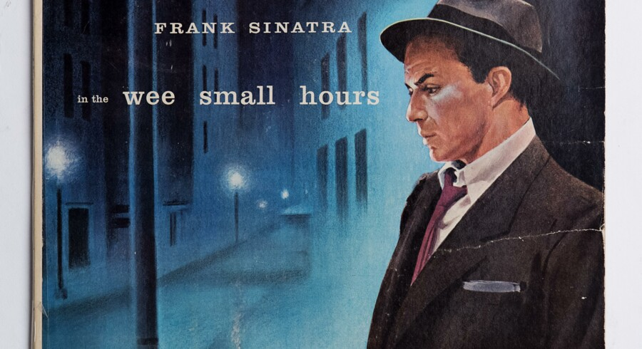 Frank Sinatra vinylplader. Frank Sinatra in the Wee Small Hours