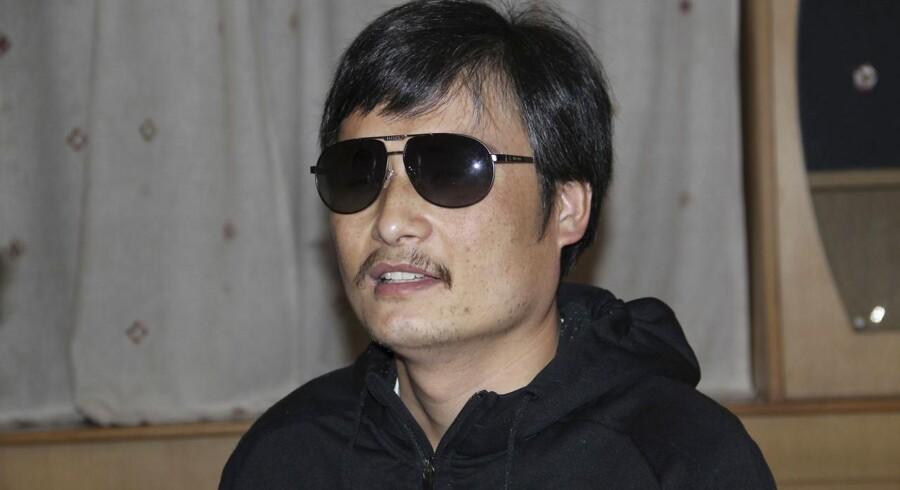 Den blinde aktivist Chen Guangcheng.
