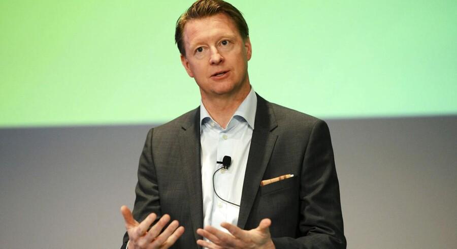 Ericssons topchef, Hans Vestberg, lukker for kabelproduktionen i Sverige. Arkivfoto: Leo Sellen, Reuters/Scanpix