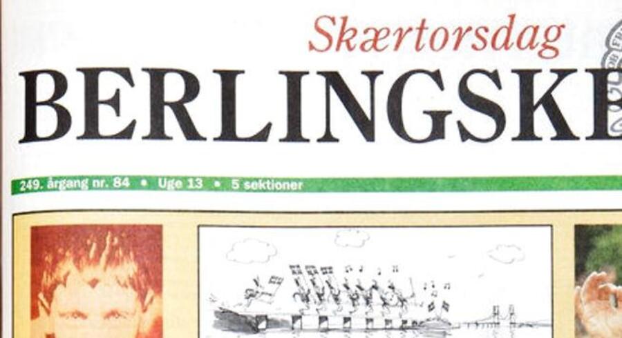 Berlingske forside 27.03.1997