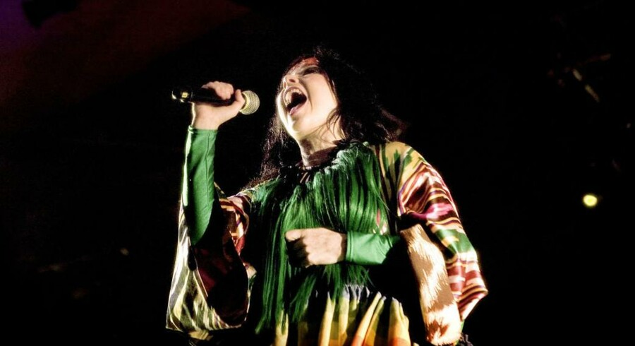 ARKIVFOTO. Det ser ud til, at Björks fans kan ende lettet op. Her ses sangerinden på Orange Scene i 2007.