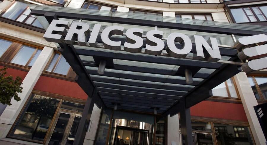 De amerikanske myndigheder har udbedt sig oplysninger fra den svenske mobilgigant Ericsson i forbindelse med en bestikkelsessag i Rumænien. Arkivfoto: Bob Strong, Reuters/Scanpix