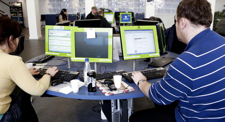 ARKIVFOTO. Jobcenter. Det private jobfirma Varda Jobservice er på vej til at køre jobcenter-Jylland i sænk.