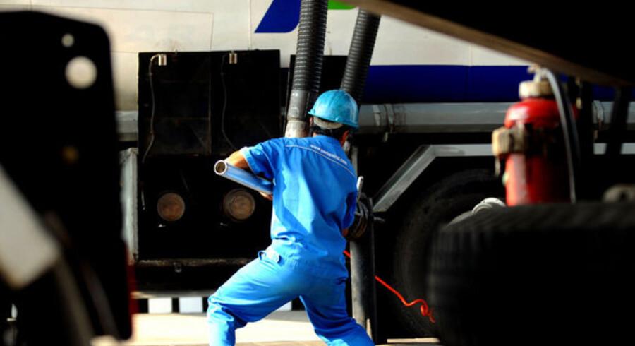 Igennem hele 2008 har oliepriserne svinget stort. Foto: Scanpix