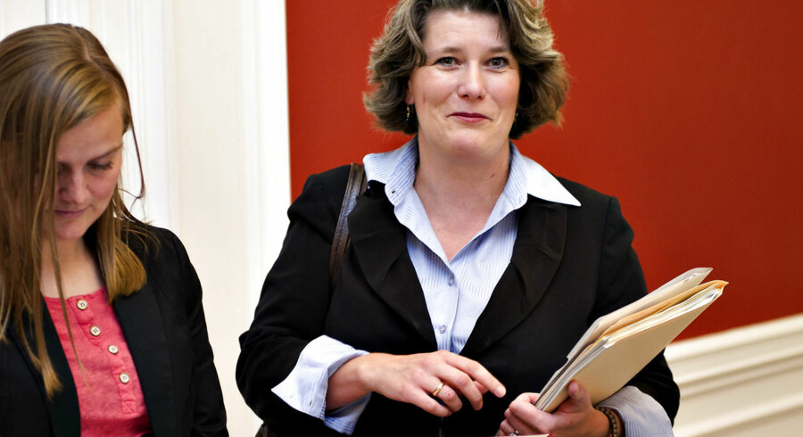 ARKIV. Tidligere forsvarsminister Gitte Lillelund Bech.