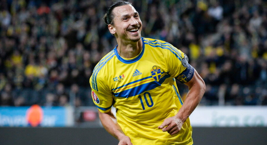 Zlatan Ibrahimovic kan misse retur-play-off-opgøret i Parken