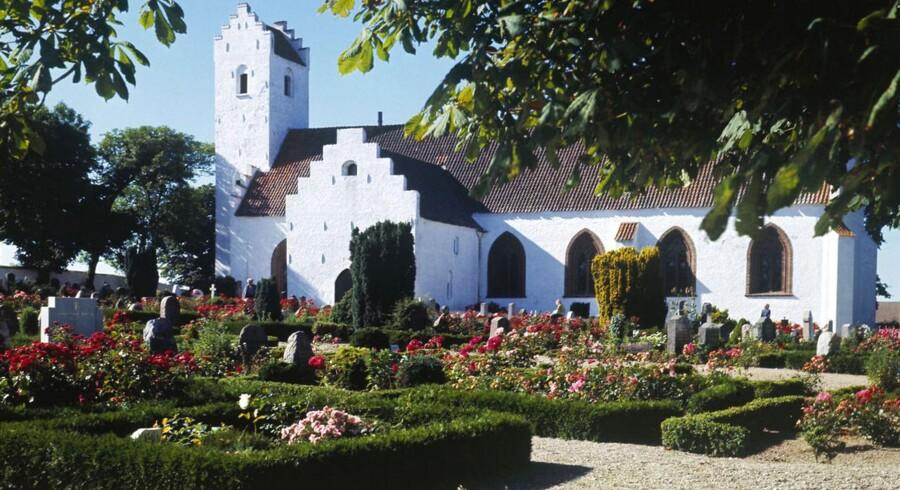 Brugerne af denne kirke - Nordby Kirke på Samsø - betaler mere i kirkeskat end andre kirkegængere i Danmark.