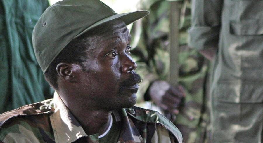Den eftersøgte krigsherre Josep Kony fotograferet i november 2006.