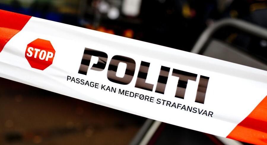 En lastbilchauffør fra Letland blev mandag eftermiddag taget i at køre 125 kilometer i timen på en strækning, hvor han kun måtte køre 80. (Arkivfoto)