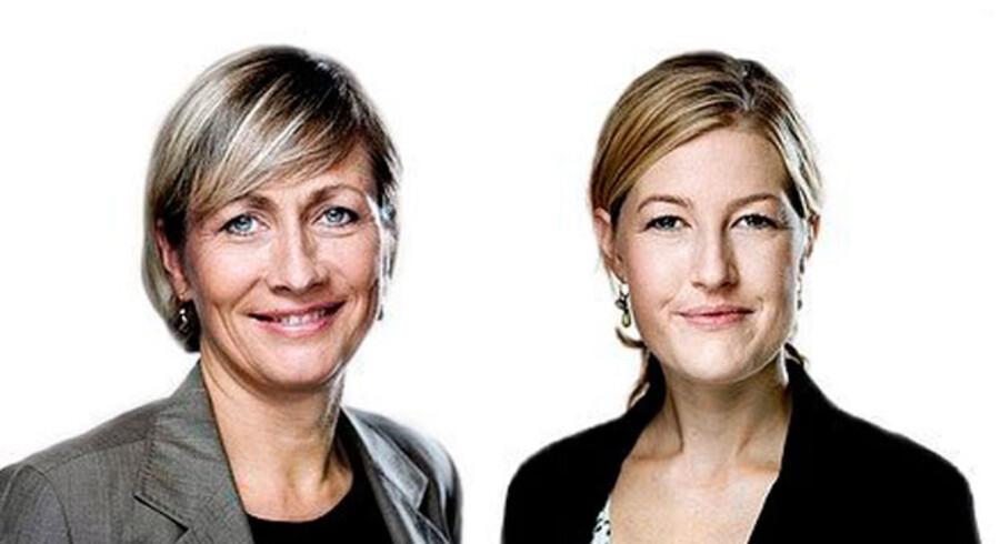 Lone Loklindt og Sofie Carsten Nielsen, begge MF(R)
