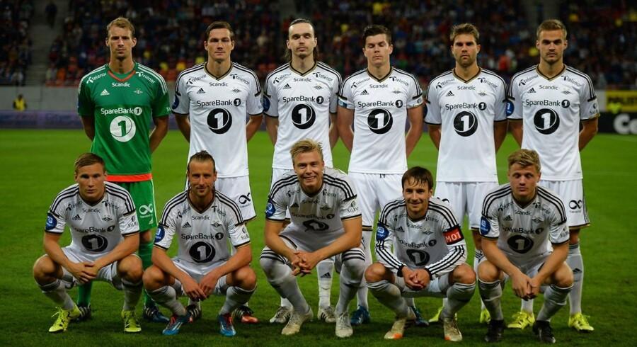 Rosenborgs fejring af det norske mesterskab i det trondheimske natteliv søndag aften får nu Norges fodboldforbund til at undersøge episoden nærmere og udelukker ikke straf. Arkivfoto.