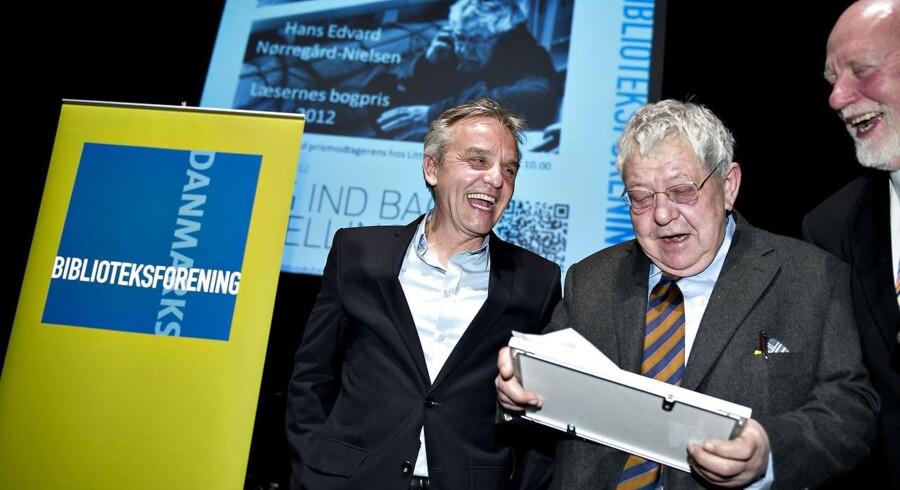 """Hans Edvard Nørregård-Nielsen, kunsthistoriker og formand for Ny Carlsbergfondet er prisvinder med tobindsværket """"Limfjorden""""."""