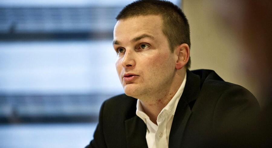 """Skatte minister Thor Møger Petersen (SF) kalder det """"uklogt"""" at skabe usikkerhed om boligmarkedet ved fra politisk side at så tvivl om boligskatterne. Men han afviser ikke, at boligskatterne kan komme i spil i en kommende skattereform."""