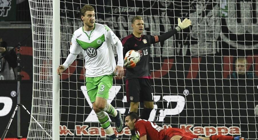 Nicklas Bendtners scoring for Wolfsburg burde ikke have været anerkendt.