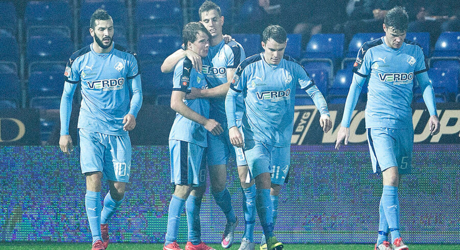 Randers FC - AGF , Alka Superliga, Bionutria Park Randers: AGFs cheftræner Morten Wieghorst