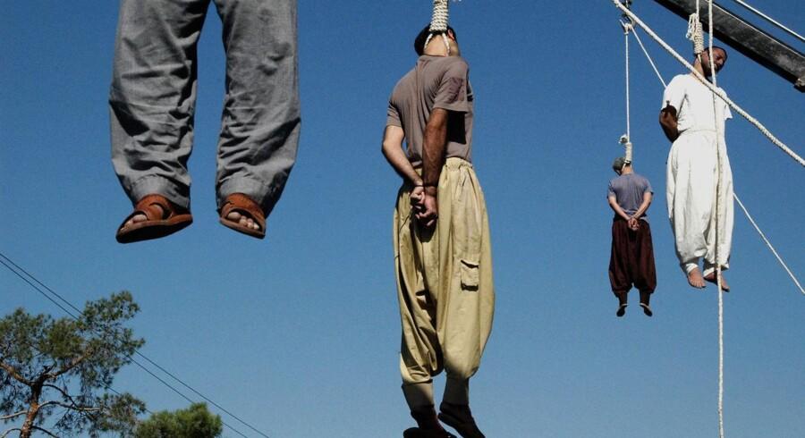 Henrettelser ved hængning i Iran.