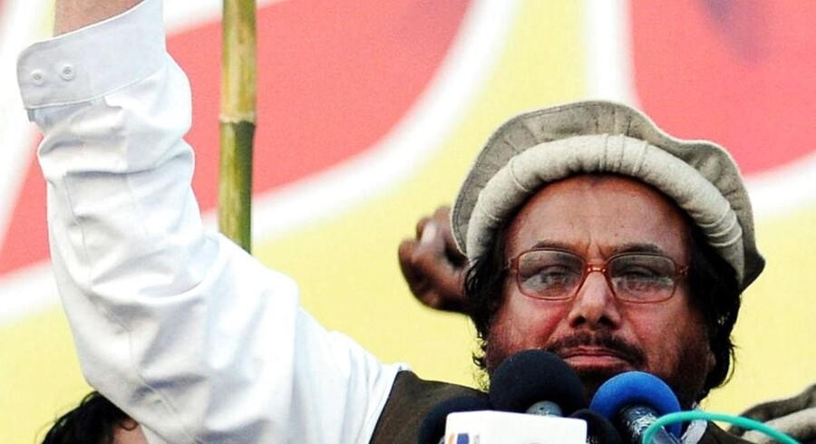 18. decembersidste årtalte Hafiz Saeed Ahmed ved en protestdemonstration i Lahore.