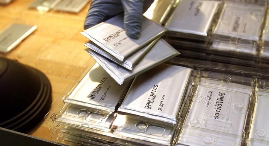 Danionics i Odense fremstiller specialbatterier.