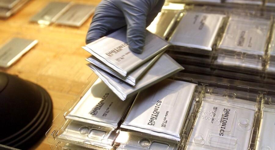 Danionics fremstiller specialbatterier.