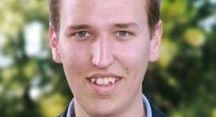 Kristoffer Beck, ny formand for Konservative Ungdom.