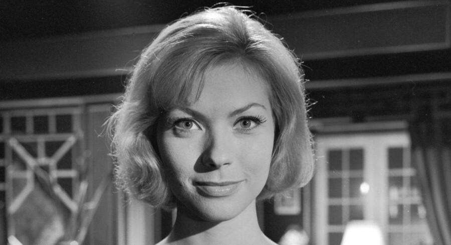 Så smuk var hun. Skuespilleren Hanne Borchsenius i 1961. Foto: Poul Petersen.