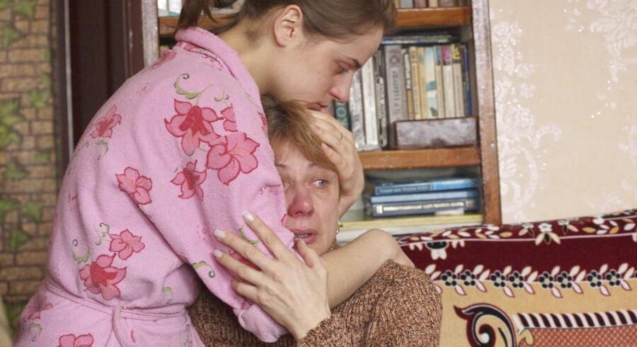 Moderen og søsteren til Vladislav Kavalyova modtog meddelelsen om hans henrettelse i et kortfattet brev.