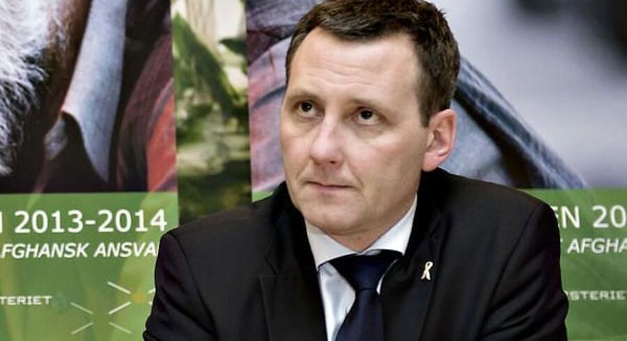 Forsvarsminister Nick Hækkerup.