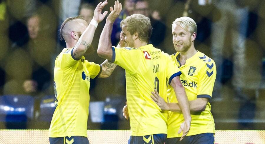 Brøndby har god grund til at juble, for klubben har nu endelig modtaget restbetalingen for salget af Simon Makienok.