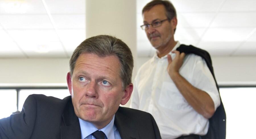 Situationen er alvorlig for Lars Barfoed og de Konservative, som ikke har formået at sætte sig på nogen som helst af de oplagte dagsordener siden valgnederlaget og nu står med en historisk lav vælgertilslutning. Hvis ikke det 97-årige parti får strammet op snart, kommer det næppe til at fejre sin næste runde fødselsdag på Borgen. Arkivfoto.