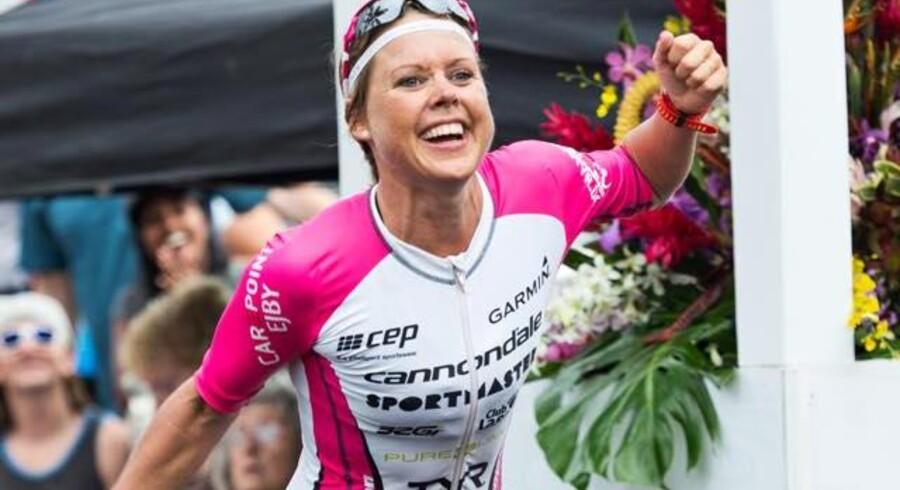 Michelle Vesterby blev nummer fire ved VM i triatlon på Hawaii