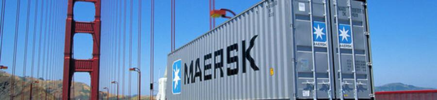 Mærsk-aktien var en af dem, der trak det danske C20-indeks op.